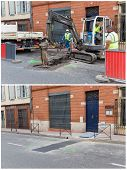 Roadworks In Toulouse