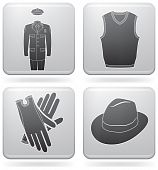 pic of top-hat  - Various fashion icons  - JPG