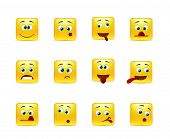 Set Crazy Emoticons