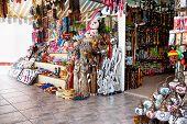 Assortment Of Souvenir Shops