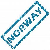 Norway rubber stamp