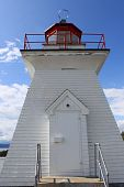 Lighthouse At Cape Enrage