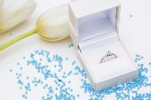 Tulip And Wedding Ring