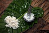 foto of malay  - Ingredients for rice wine from an ancient Malay recipe - JPG
