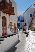 Narrow street, Nisyros island
