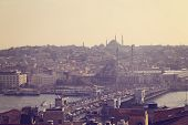 foto of constantinople  - Beautiful Capture of Cityscape of Istanbul Turkey - JPG