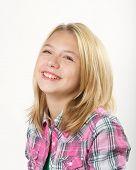 Young Girl in Studio