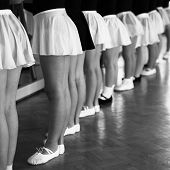pic of ballet barre  - Little Dancer  - JPG