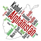 Afghanistan Map And Cities