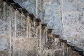 pic of stairway  - Metal Stairway - JPG