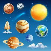 pic of uranus  - Space and planet - JPG