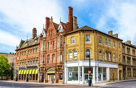 picture of florence nightingale  - Houses in the city centre of Southampton England - JPG