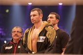 Vitali Klitschko In The Ring