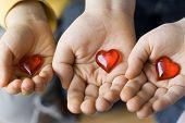 Tres corazones