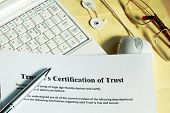 Certificate Of Trust