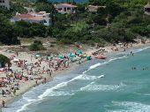 Beach On The Island Of Carloforte