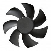 fan isolated on white background with clipping path