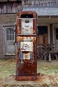 Antique American Gas Pump