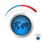 Elevação da temperatura da terra