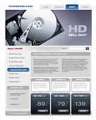 Hard Disk Sale promotional brochure