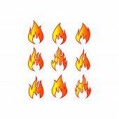 Fire Icon, Fire Icon Eps10, Fire Icon Vector, Fire Icon Eps, Fire Icon Jpg, Fire Icon Picture, Fire  poster