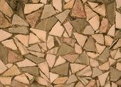 Chipped Stone Mosaic