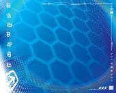 Постер, плакат: Абстрактный фон плюс границы декоративных технологии Векторные слои