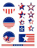Patriotic Political Buttons
