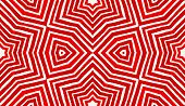 Red Geometric Watercolor. Amazing Seamless Pattern. Hand Drawn Stripes. Brush Texture. Fantastic Che poster