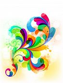 EPS10. Elemento super colorido para seu projeto