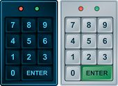 Keypad Entry (editable vector format)