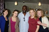 LOS ANGELES - NOV 5:  Erica Trullinger, Taylor Spreitler, Alimi Ballard, Melissa Joan Hart, Caren Day at the