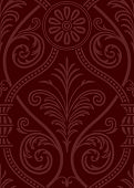 Seamless gothic Damask Web Background