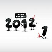 picture of new years celebration  - Funny 2012 New Year - JPG