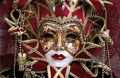 Постер, плакат: Венеция карнавал маска