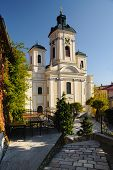 picture of banska  - Parish church in Banska Stiavnica - JPG