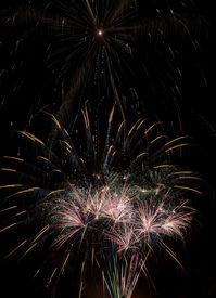stock photo of guy fawks  - Fireworks - JPG