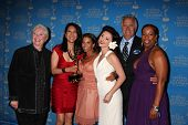 LOS ANGELES - JUN 17:  Susan Flannery, Bold & Beautiful Makeup Winners, John McCook at the 38th Annu