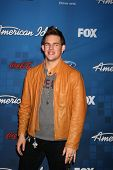 LOS ANGELES -  3: James Durbin arrives at the American Idol Season 10 FInalists Party at The Grove o