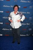 LOS ANGELES -  3: Dot-Marie Jones arrives at the American Idol Season 10 FInalists Party at The Grov