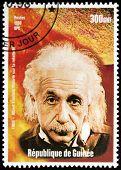 Einstein Guinea Stempel