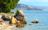 Marine sanctuary Trieste located in the Gulf of Trieste, Adriatic sea Italy.  It includes a coastline of 1.700 m and an offshore area of 120 ha, divided into a core zone 30 ha and a buffer zone 90 ha.