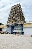 Kamakshiamman Temple In Kanchipuram. Bouilt In The 14 Th Century. Tamil Nadu, India