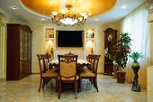 Luxury Dining Room Interior