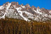 Snowy Kangaroo Ridge Washington Pass Summer North Cascades National Park Pacific Northwest