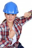 Tradeswoman ready to fight
