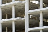 Building Made With Precast Concrete Slabs