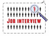 Job Interview With Magnifier