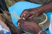 Gullah Basket Weaving