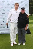 LOS ANGELES - APR 15:  Jack Wagner, Jack McGee at the Jack Wagner Celebrity Golf Tournament benefitt